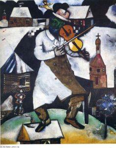 Il violinista M. Chagall